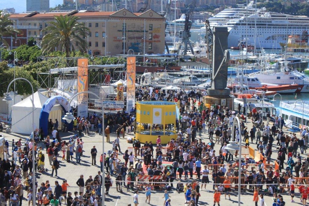 Pienone al Porto Antico con Stelle nello Sport