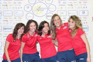 Le ragazze del CUS Genova
