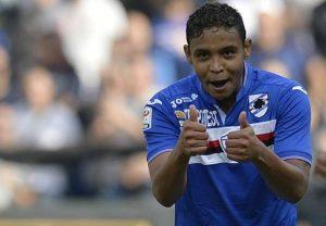 Luis Murie, bomber della Sampdoria