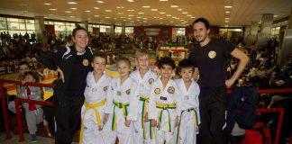 La squadra del Lanterna Taekwondo