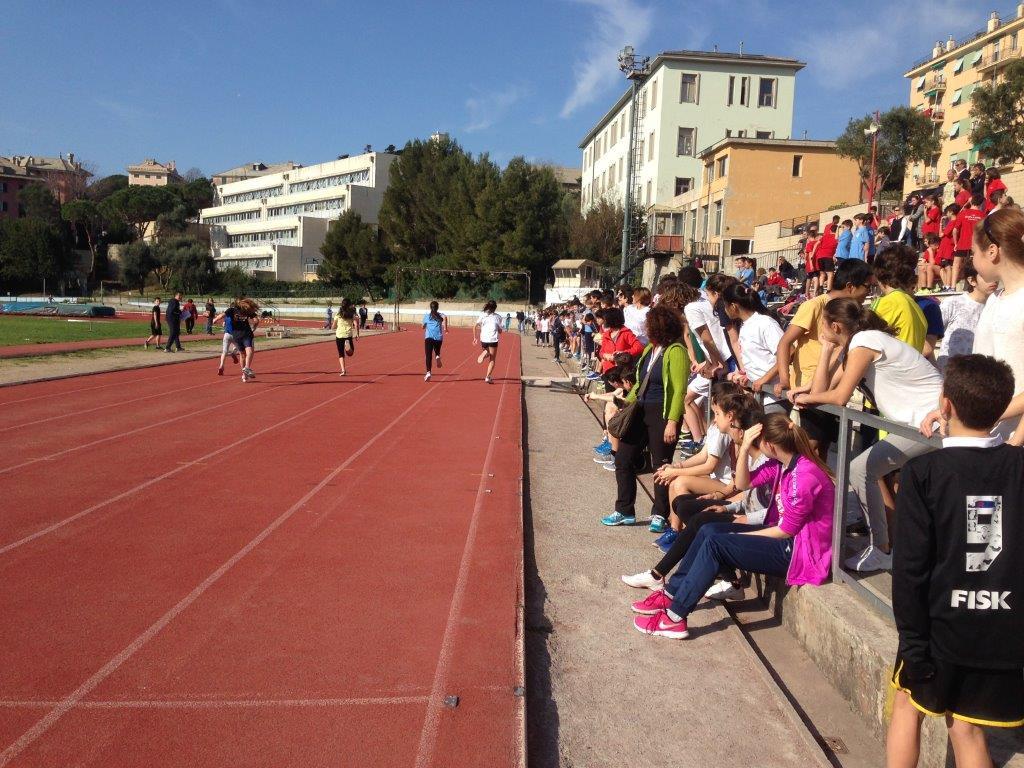 Il più veloce di Genova a Villa Gentile
