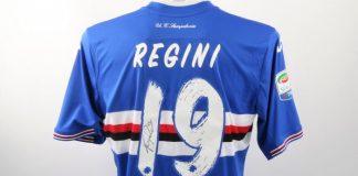 La maglia di Regini all'asta per Stelle Nello Sport