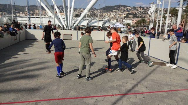 Football freestyle Genova