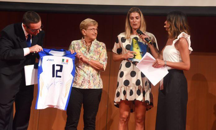 Francesca Piccinini al Galà di Stelle Nello Sport