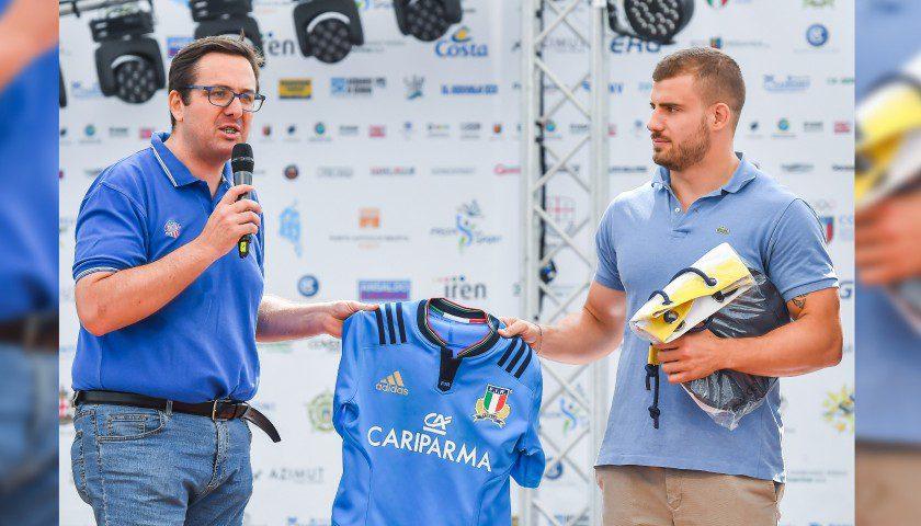Tommaso Castello alla Festa dello Sport 2018